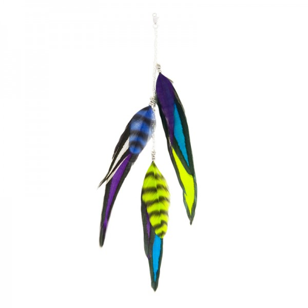 Fine Featherheads FEATHER CHARMS - Techno