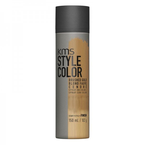 KMS STYLECOLOR Brushed Gold 150ml Sprayflasche Gold Blond