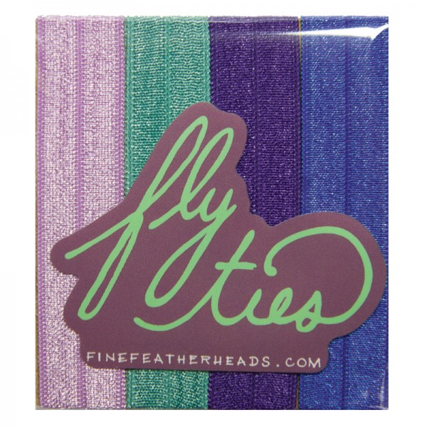 Fine Featherheads FLY TIES - Orchid