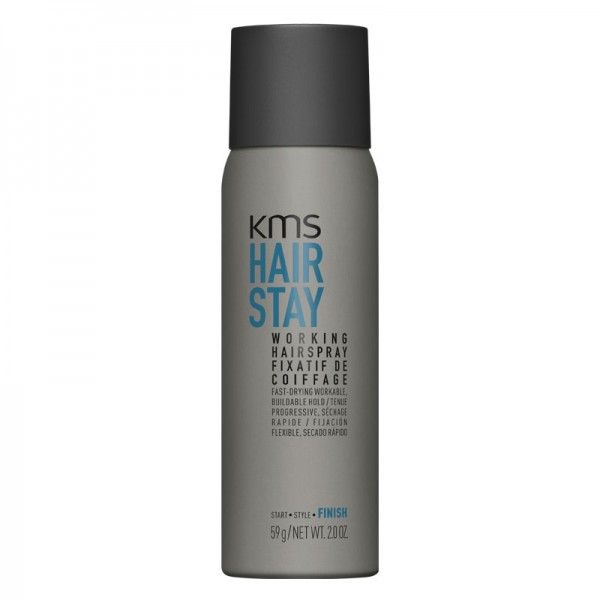 KMS HAIRSTAY Working Spray 75ml Haarspray Reisegröße