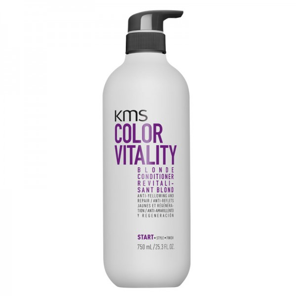 KMS COLORVITALITY Blonde Conditioner 750ml Pumpflasche