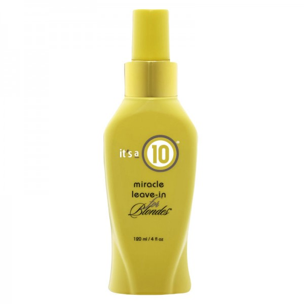 It's a 10 Miracle Leave-In Conditioner for Blondes 120ml