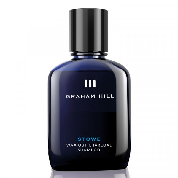 Graham Hill STOWE Wax Out Charcoal Shampoo 100ml