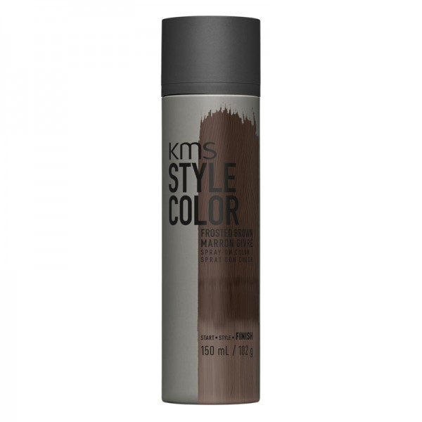 KMS STYLECOLOR Frosted Brown 150ml Sprayflasche Dunkelbraun