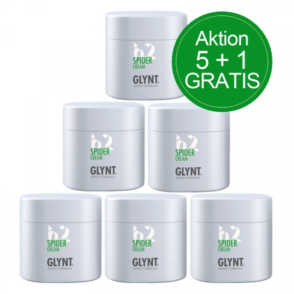 GLYNT AKTION: 5 + 1 GRATIS - SPIDER Cream 75ml