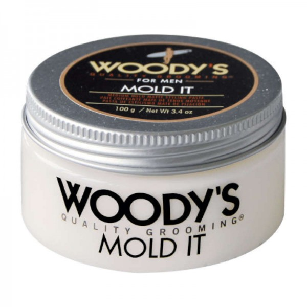 WOODY'S MOLD IT Styling Paste super matte 100g