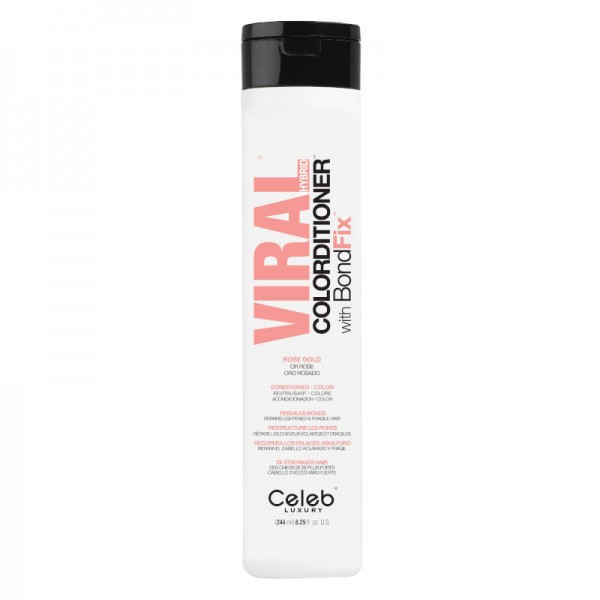 Celeb Viral Pastel Rose Gold Colorditioner 244ml