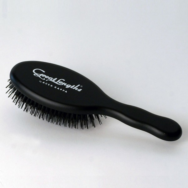 Great Lengths Acca Kappa Oval Brush BLACK