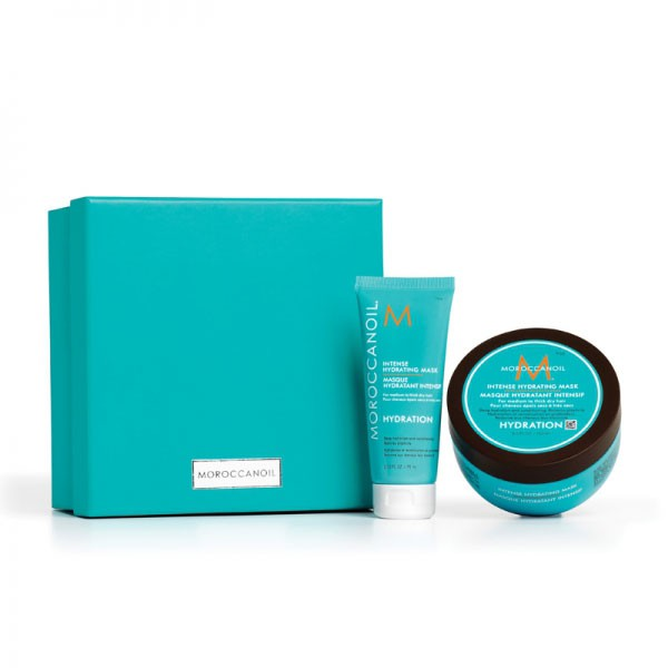 MOROCCANOIL Home & Away Intense Hydrating Mask - Box 3-teilig
