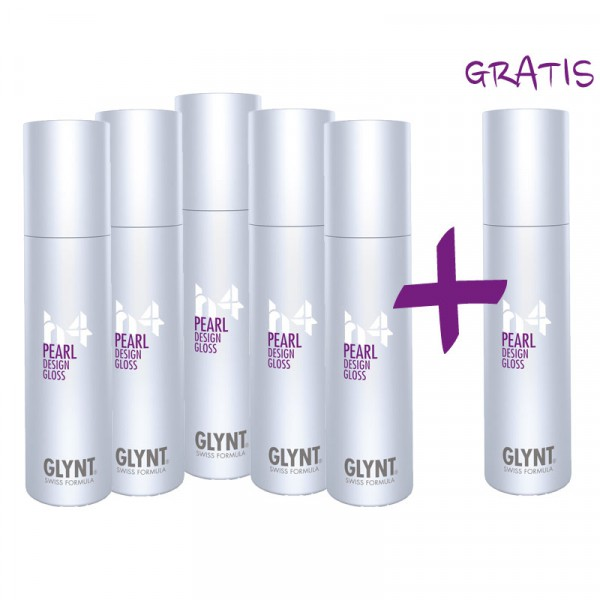 GLYNT AKTION: 5 + 1 GRATIS - PEARL Design Gloss 100ml