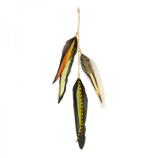 Fine Featherheads FEATHER CHARMS - Retro