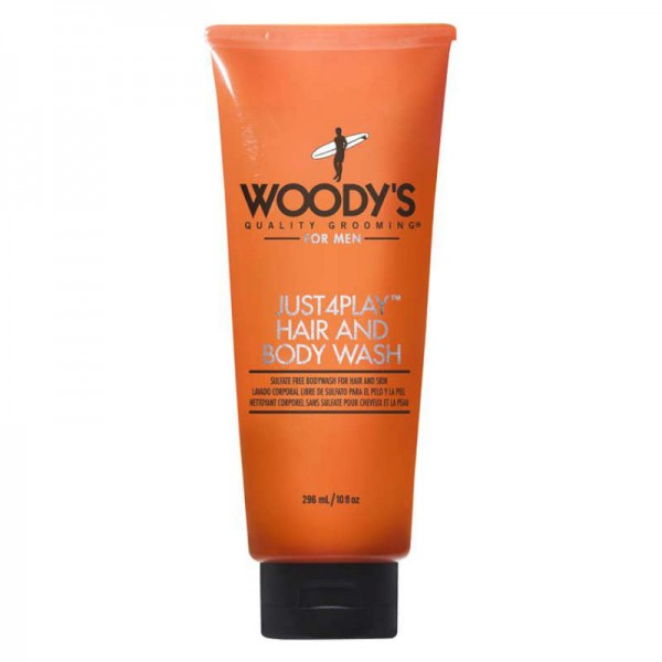 WOODY'S Just 4 Play Body Wash 296ml