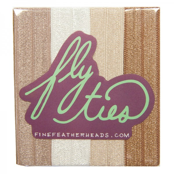 Fine Featherheads FLY TIES - Champagne