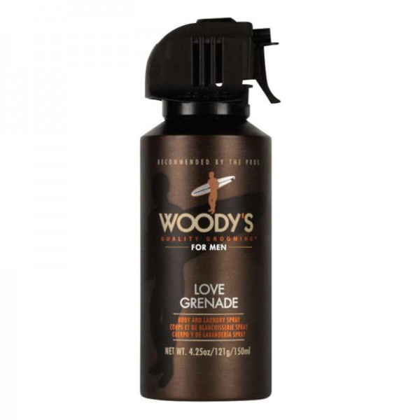 WOODY'S Love Grenade Body & Laundry Spray 150ml