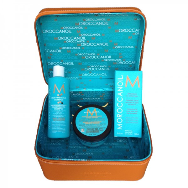 MOROCCANOIL Orange Cosmetik Case - Set 4-teilig